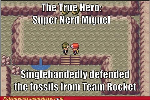 fossils,gameplay,miguel,mount moon,saved,Team Rocket