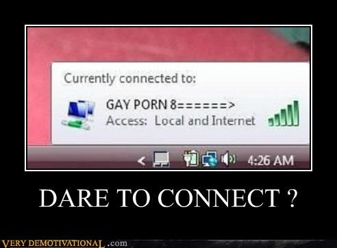 connect dare Terrifying wi-fi