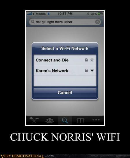 chuck norris hilarious wifi - 5422751232