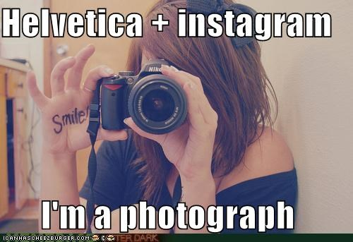 helvitica hipsterlulz instagram Photo