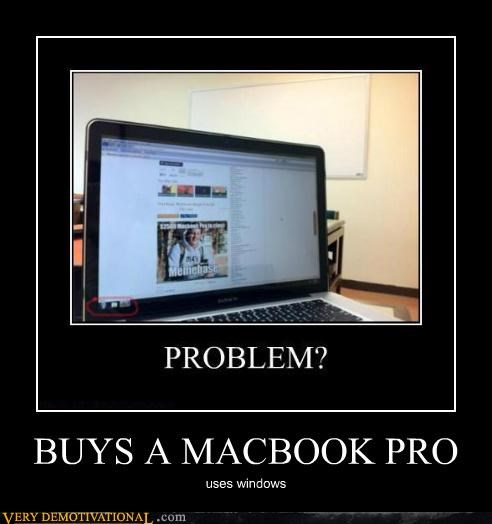 idiots,macbook,problem,troll,windows