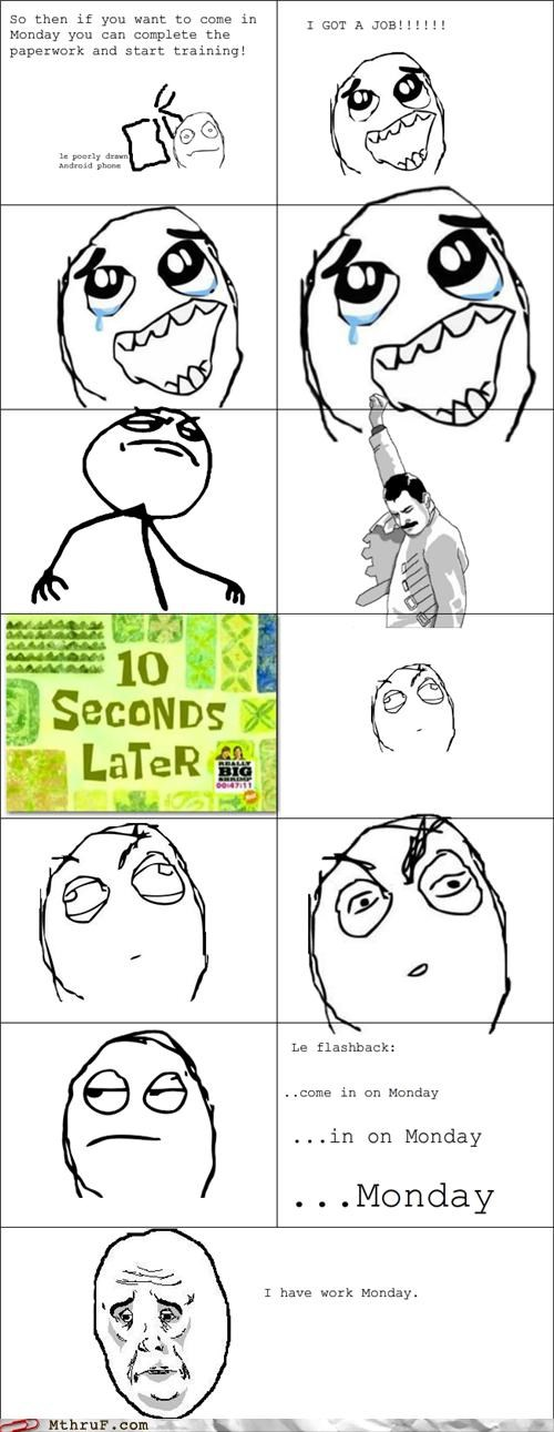 employed hired job okay face rage comic work - 5423070208