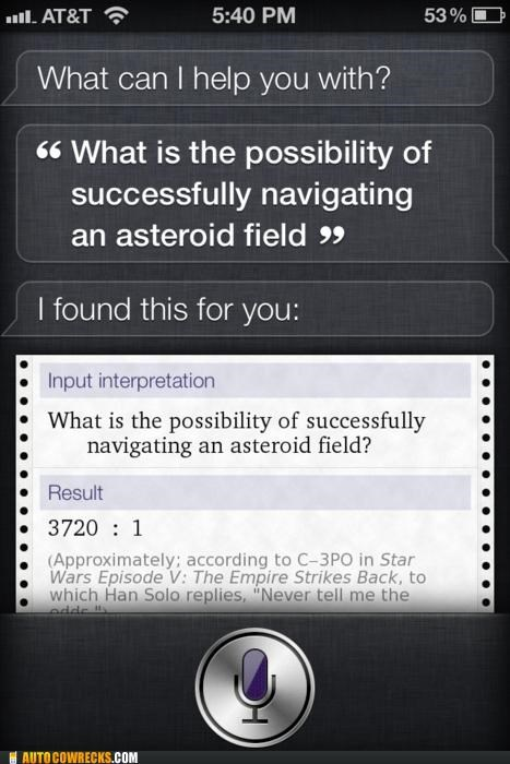 asteroid,siri,star wars,The Empire Strikes Back,wolfram,wolfram alpha