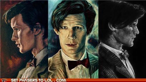 111111 doctor who Matt Smith the doctor - 5423295744
