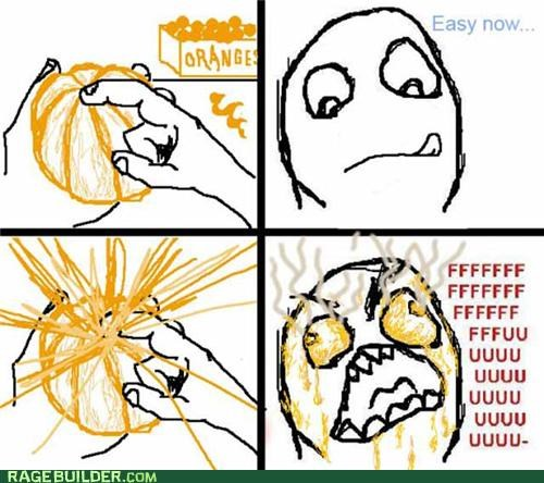 juice orange Rage Comics spurt - 5423301632
