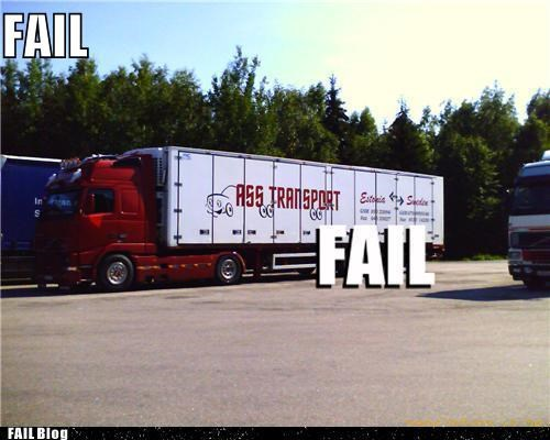 FAIL Nation: Haulin' It FAIL