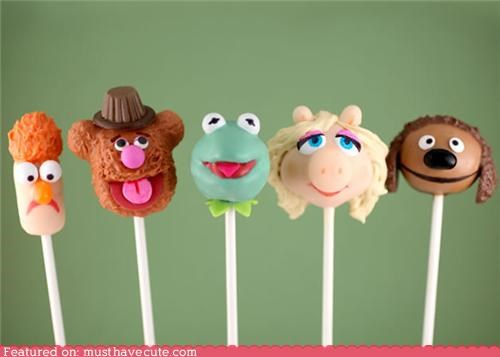 cake pops characters epicute heads muppets - 5423428864