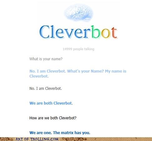 Cleverbot matrix we are one - 5423440896