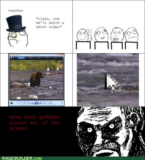 cursor Rage Comics technologically impaired Video - 5423485696