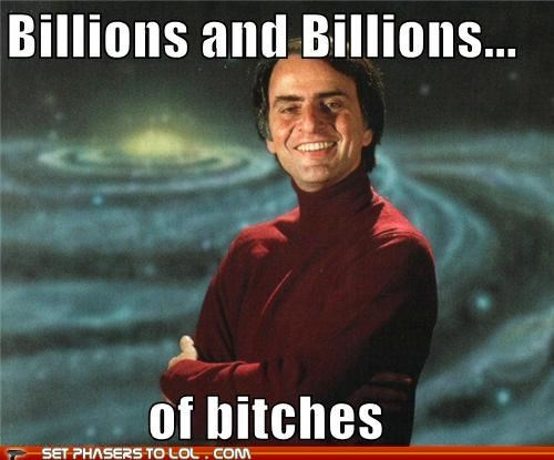 billions carl sagan space