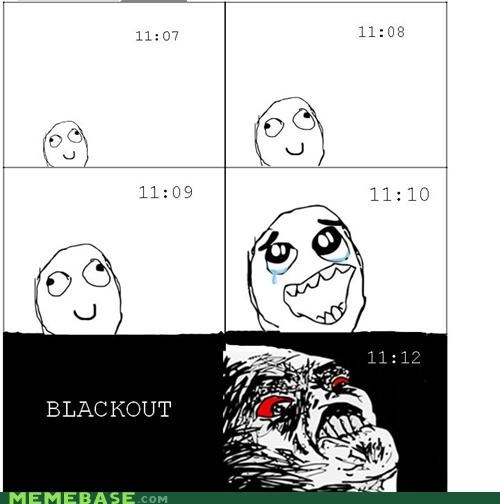 111111 1111 blackout eleven eleven Rage Comics time wishes - 5423554304