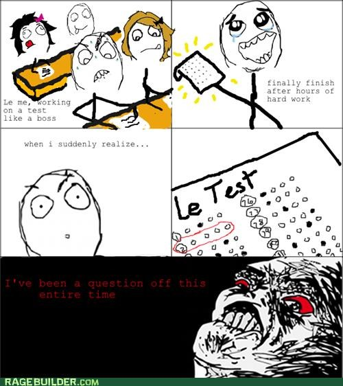 multiple choice off Rage Comics test - 5423668992
