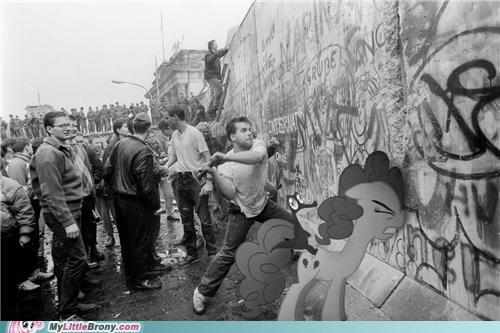 berlin wall in history pinkie pie ponies she is so nice - 5423752448