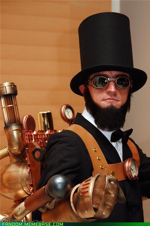 abraham lincoln cosplay president Steampunk - 5423872256