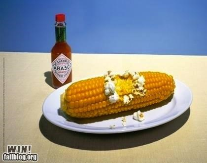 advertisement clever corn hot sauce Popcorn spicy - 5423991040