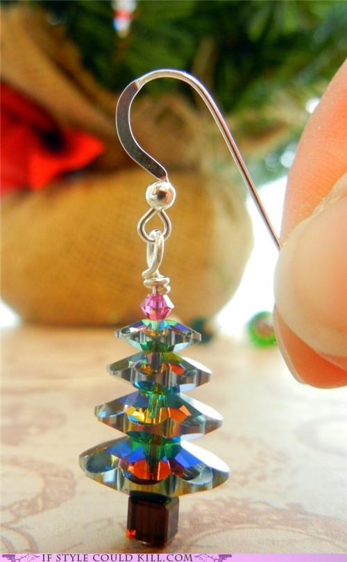 christmas cool accessories DIY earrings