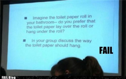 class school stupid toilet paper - 5424101376