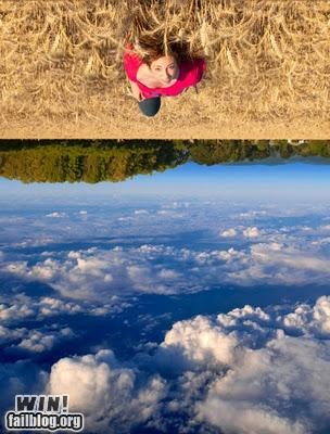 clever cool field perspective photography sky