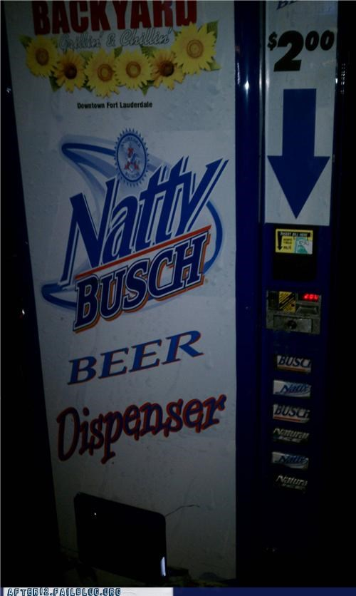 beer,dollar,natty light,vending machine