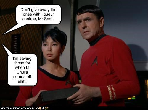 james doohan scotty Star Trek uhura - 5424737024