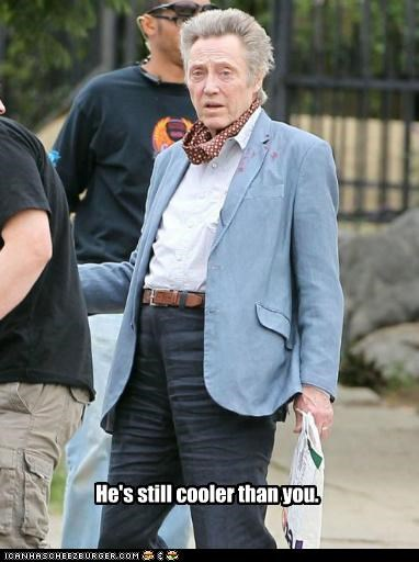 christopher walken,cool,fashion,pants,wtf,you