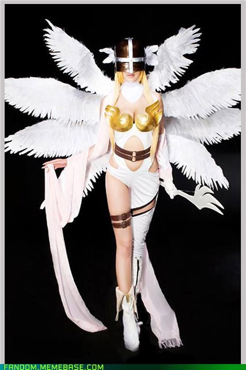 Angewomon cosplay digimon wings - 5425161728