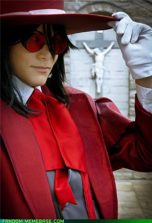 alucard anime cosplay hellsing manga - 5425279232