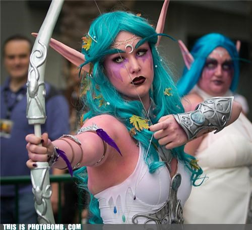 best of week,cosplay,costume,elves,fantasy,reality,scary