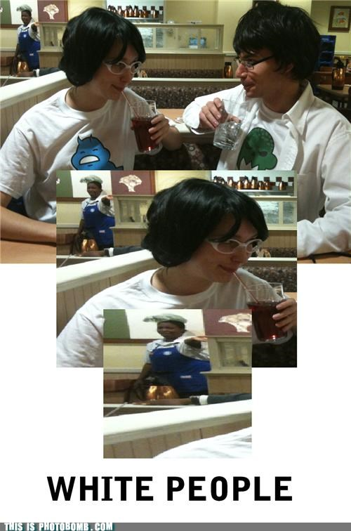 awesome cosplay restaurant white people - 5425888768