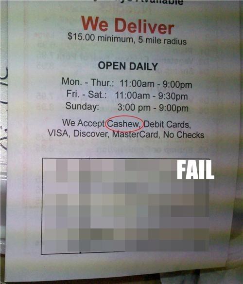 food money Professional At Work typos wtf - 5425927680
