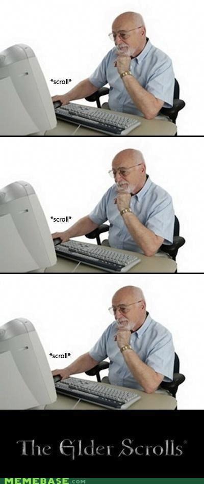 elder scrolls Memes puns Skyrim video games - 5426162432