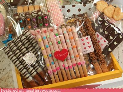candy chocolate epicute japanese Pocky snack sticks