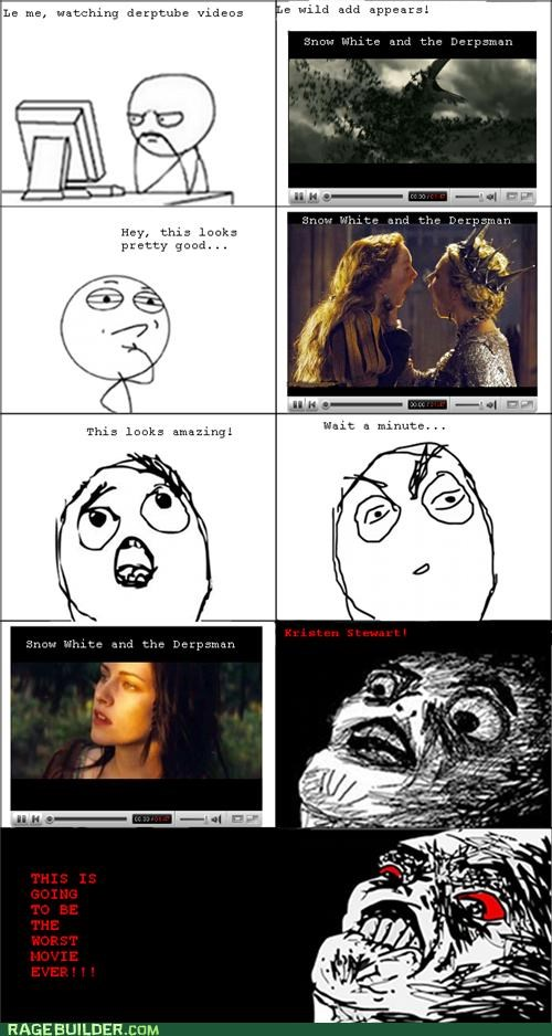 acting best of week kristen stewart Rage Comics snow white - 5427875840