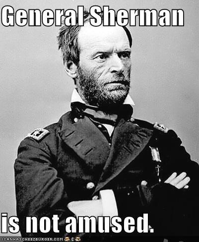 Image result for meme, general sherman