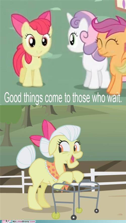 apple bloom comic comics cutie mark crusaders old timer - 5428905984