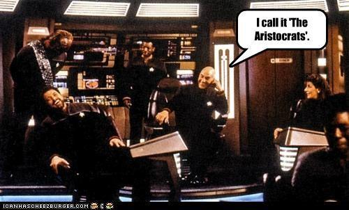 jean-luc picard joke Jonathan Frakes patrick stewart Star Trek the aristocrats - 5429430272