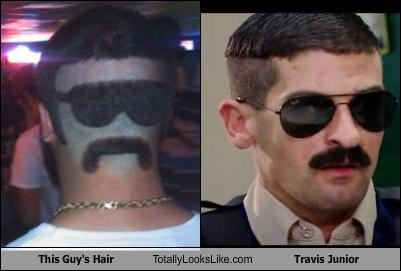funny hair Hall of Fame RENO 911 Robert Ben Garant TLL travis junior - 5429501440