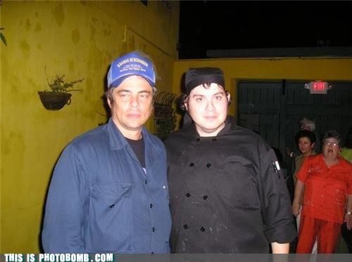 Benicio Del Toro celeb Celebrity Edition not too happy omg starstruck - 5429641216