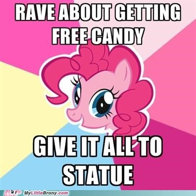 candy,logic,luna,meme,nightmare night,statue,yum