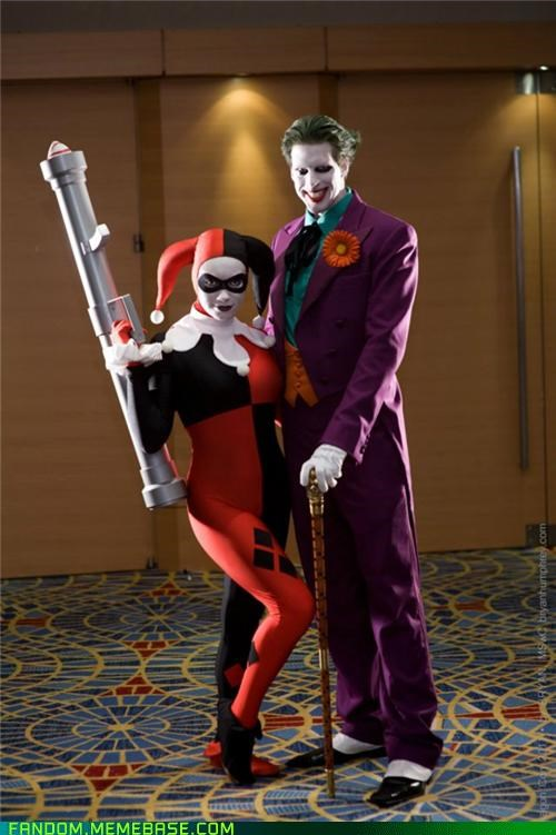 batman,comics,cosplay,DC,Harley Quinn,the joker