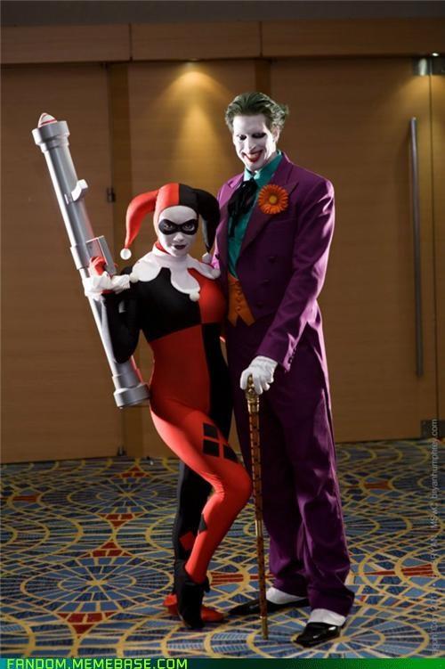 batman comics cosplay DC Harley Quinn the joker - 5430607616