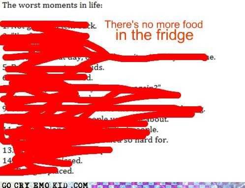 emolulz,fridge,moments,worst