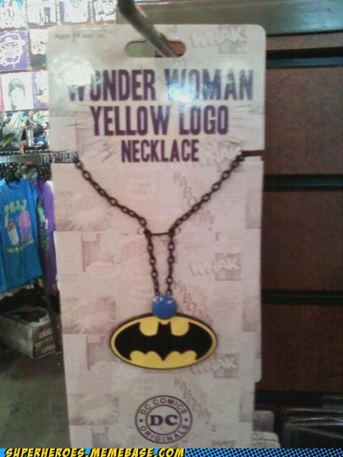 batman necklace Random Heroics wonder woman - 5430649600