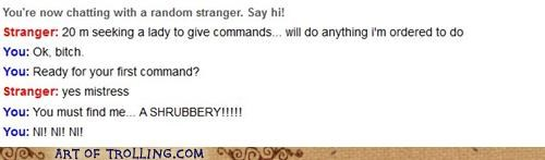 commands ni Omegle shrubbery - 5431030784