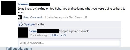 example not what i meant philosophy soap your friends are laughing at you - 5431240448