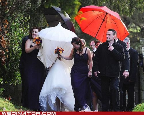 bride fiancee funny wedding photos mother in law parasol ridiculous son - 5432107264