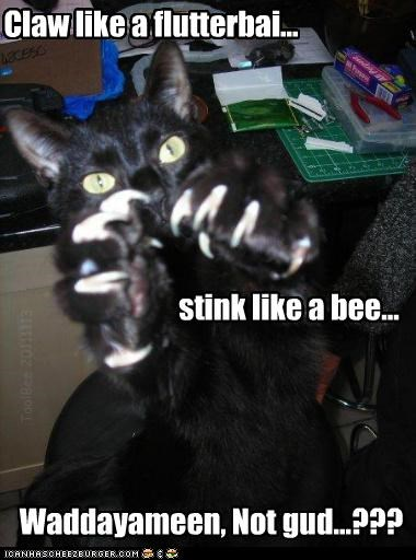 Bees don't stink, do they..?