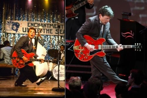 back to the future michael j fox So This Happened Then And Now