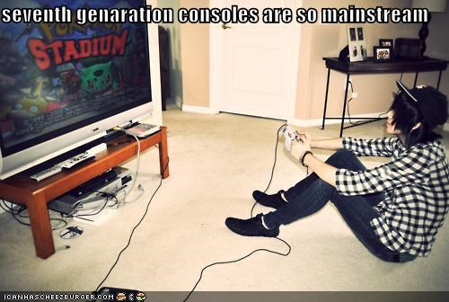 gaming,hipster,hipsterlulz,mainstream,Pokémon,video games