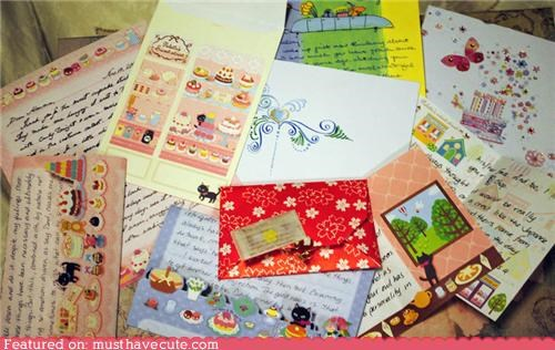 letters paper penpals stationary write - 5432365056